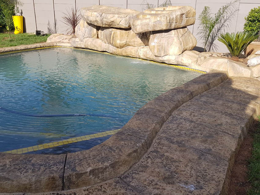 Pools - Thatchcrete | Rock Pools | Thatching | Renovations
