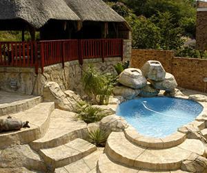 Welcome thatchcrete rock pools thatching renovations for Pool design johannesburg